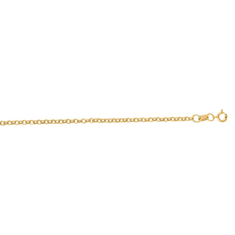 Royal Chain 14K Gold 1.0mm Lite Rolo Chain