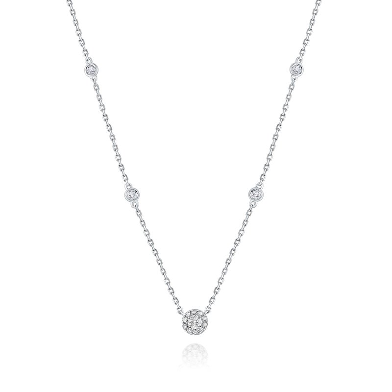 MAZZARESE Fashion 14K Gold and Diamond Necklace