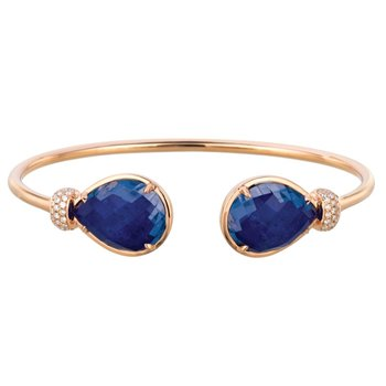 Royal Lapis Open Bangle