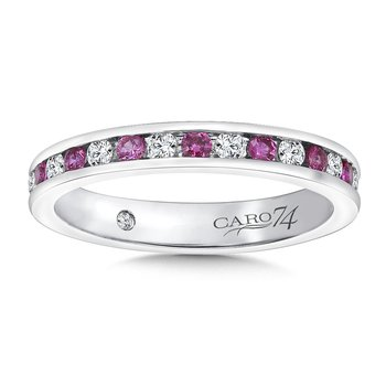 CARO 74 Eternity Band (Size 6.5) in 14K White Gold (0.375ct. tw.)