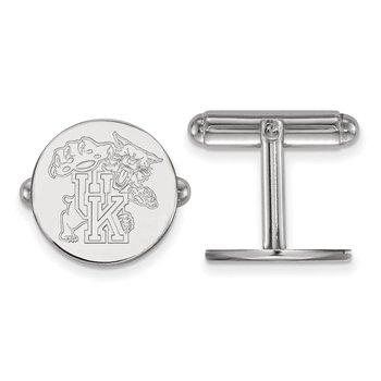 Sterling Silver University of Kentucky NCAA Cuff Links