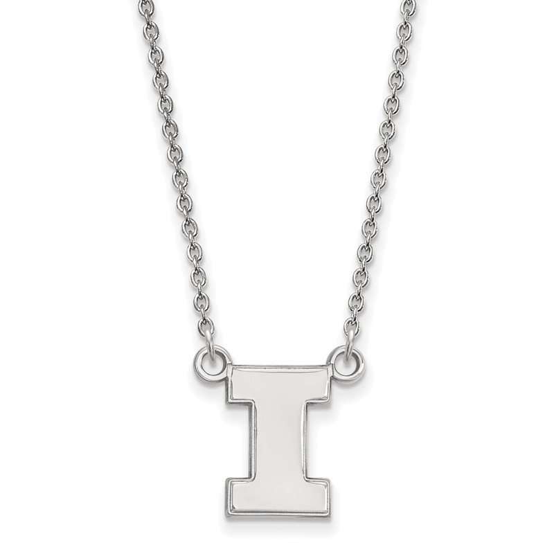 NCAA Gold University of Illinois NCAA Necklace