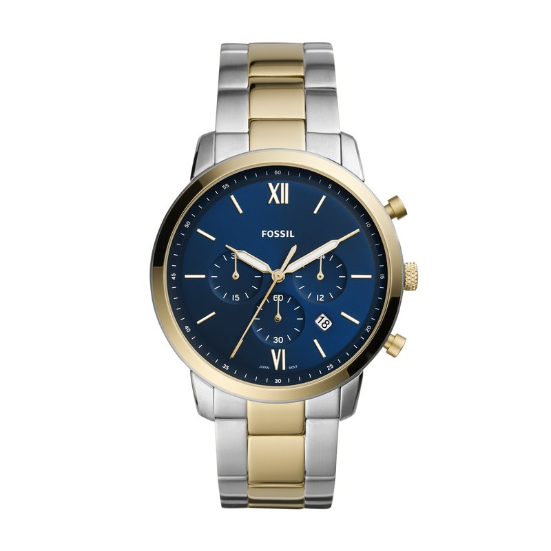 Fossil Neutra Chronograph Two-Tone Stainless Steel Watch