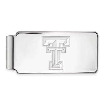 Gold Texas Tech University NCAA Money Clip