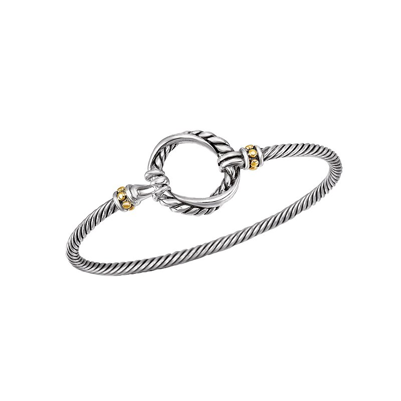 Eleganza Ladies Fashion Two-Tone Bracelet