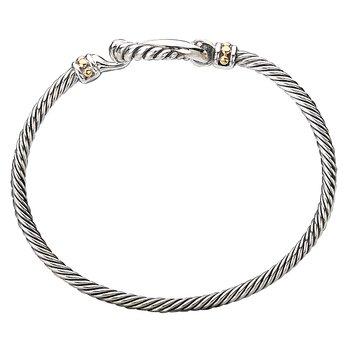 Ladies Fashion Two-Tone Bracelet