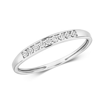 Diamond Illusion Eternity Ring