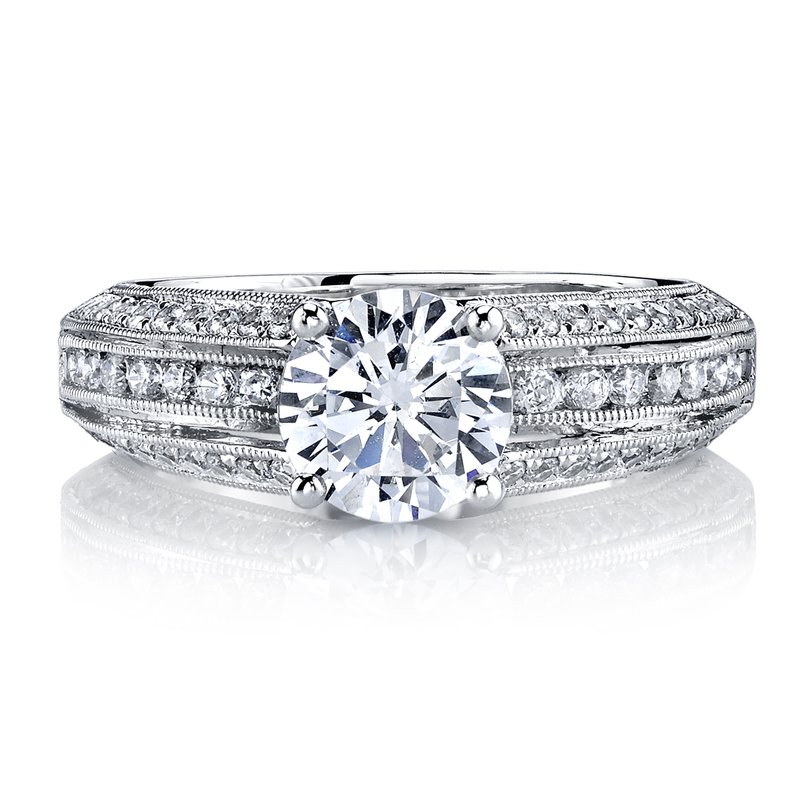 MARS Jewelry MARS 25738 Diamond Engagement Ring, 0.60 Ctw.