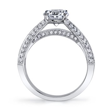 MARS 25738 Diamond Engagement Ring, 0.60 Ctw.