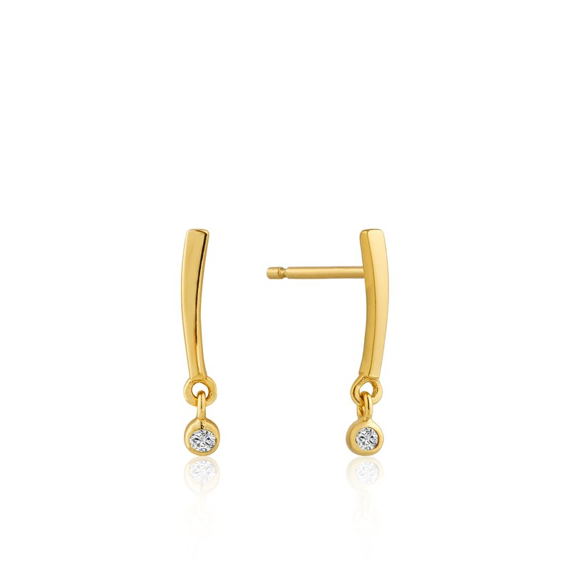 Ania Haie Shimmer Bar Stud Earrings