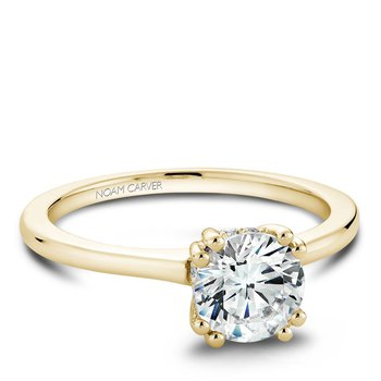 Noam Carver Modern Engagement Ring B004-04YA