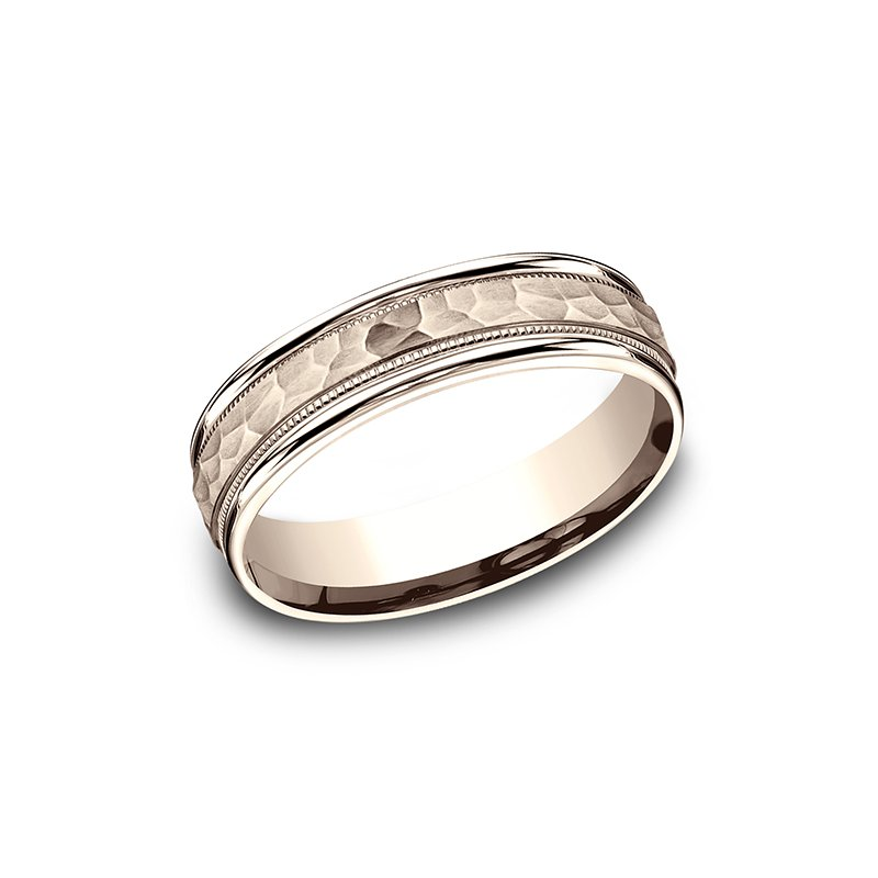 Benchmark Comfort-Fit Design Wedding Band