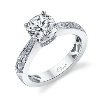 14K W RING 10RD 0.19CT 6BG 0.11CT