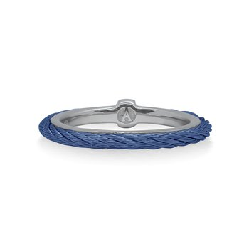 Blueberry Cable Stack Ring