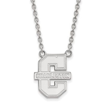 Sterling Silver College of Charleston NCAA Necklace