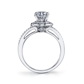 25219 Diamond Engagement Ring 0.42 ct tw