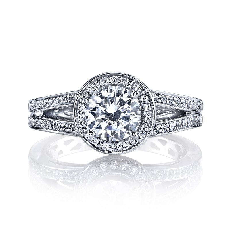MARS Jewelry 25219 Diamond Engagement Ring 0.42 ct tw