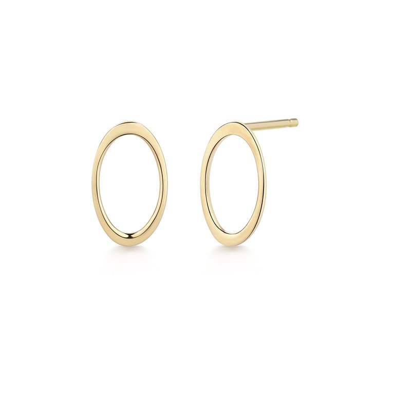 Aurelie Gi IRENE | Open Oval Earrings