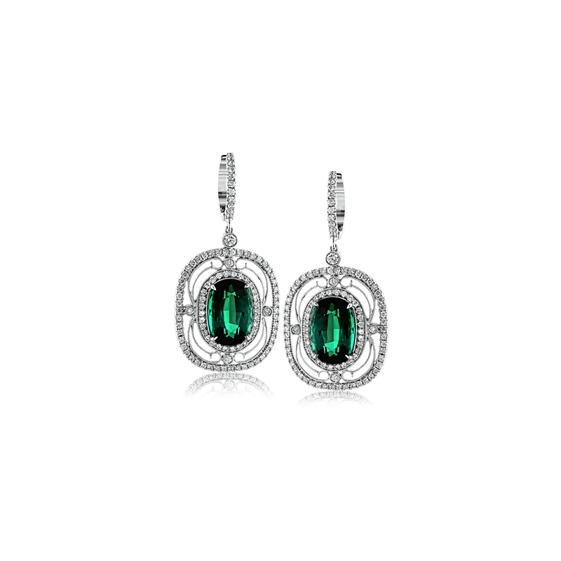 Simon G TE168 COLOR EARRING