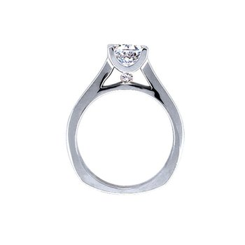 Solitaire Engagement Ring by Love Story
