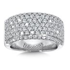 SDC Creations Diamond Ring in 14K White Gold
