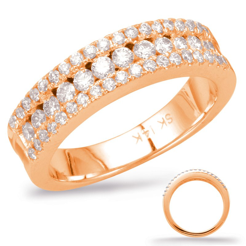 S. Kashi  & Sons Rose Gold Matching Band
