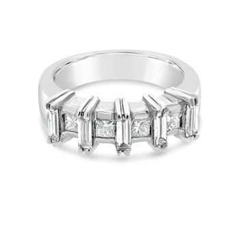 Platinum Diamond Vintage Band
