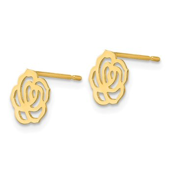 14k Madi K Children's Flower Post Earrings