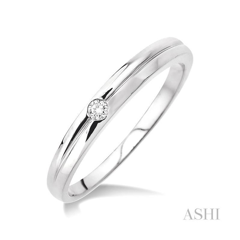 ASHI stackable diamond ring