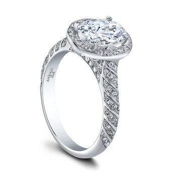 Lulu Oval Engagement Ring