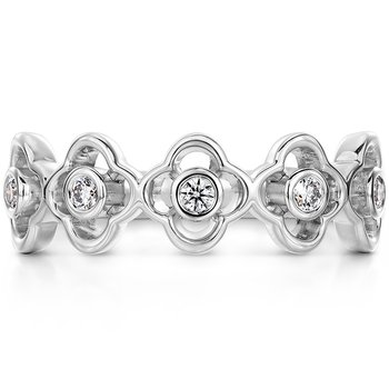 Signature Petal Bezel Band