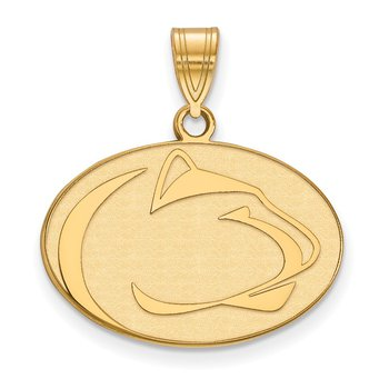 Gold-Plated Sterling Silver Pennsylvania State University NCAA Pendant