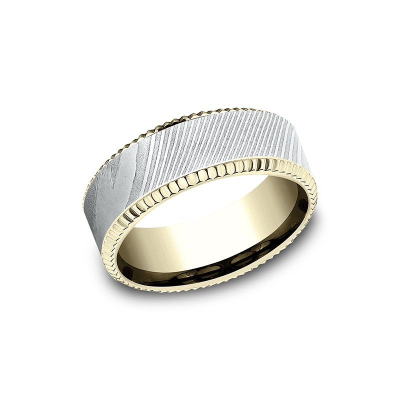 Ammara Stone Ammara Stone Comfort-fit Design Wedding Ring