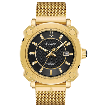 Grammy Men's Special Edition Gold Tone Watch