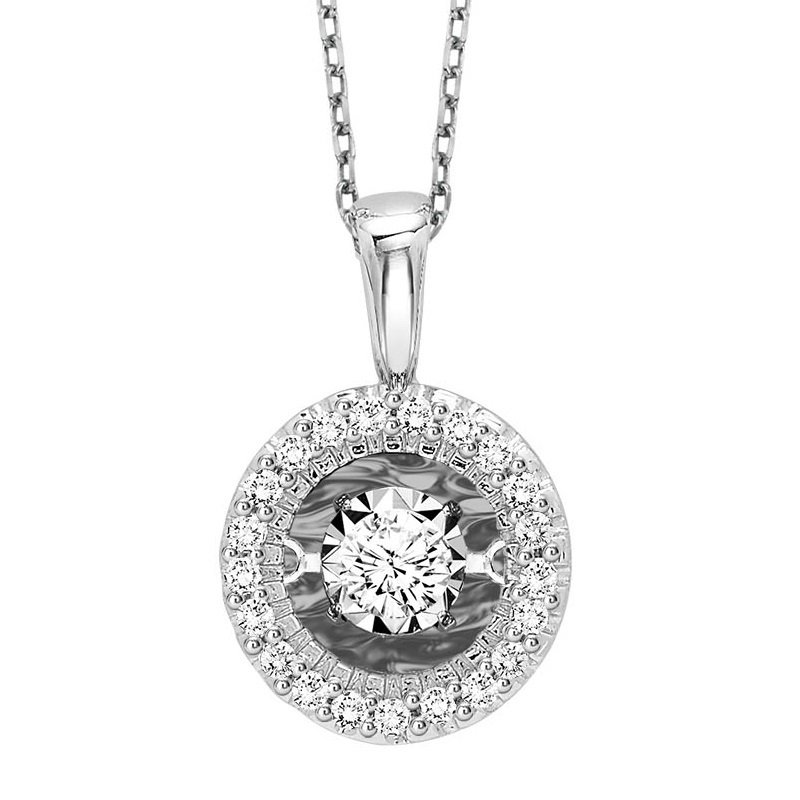 Rhythm of Love 14K Diamond Rhythm Of Love Pendant 1/7 ctw