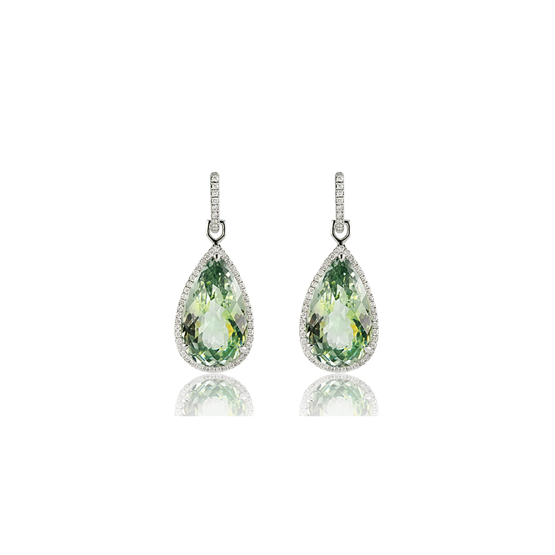 Zeghani ZE103 COLOR EARRING