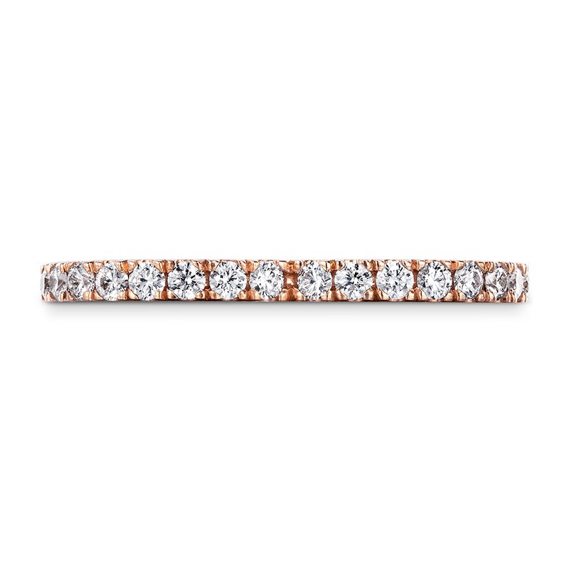 Hearts on Fire Signature Petal Eternity Band
