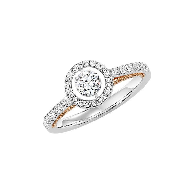 Rhythm of Love 14K Diamond Rhythm Of Love Ring 1/2 ctw