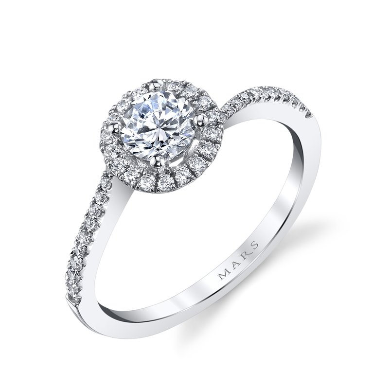 MARS Jewelry - Engagement Ring 25393