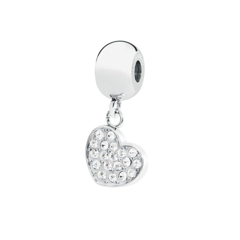 Brosway 316L stainless steel and Swarovski® Elements white crystals.