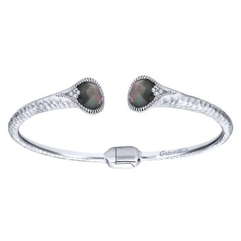 Silver Fashion Bangle