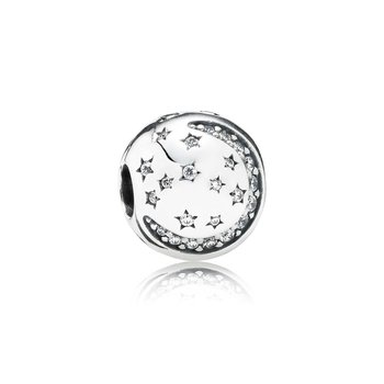 Twinkling Night Clip, Clear Cz