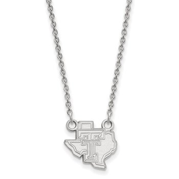 Gold Texas Tech University NCAA Necklace