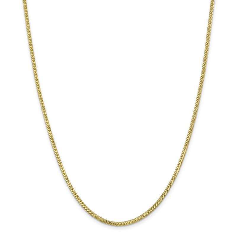 Quality Gold 10k 2mm Franco Chain