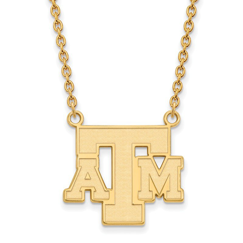 NCAA Gold Texas A&M University NCAA Necklace