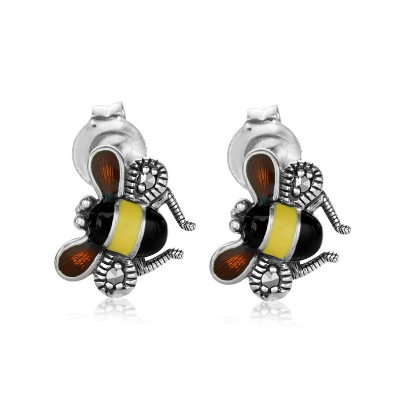 LARUS Jewelry Vintage Bee Earrings