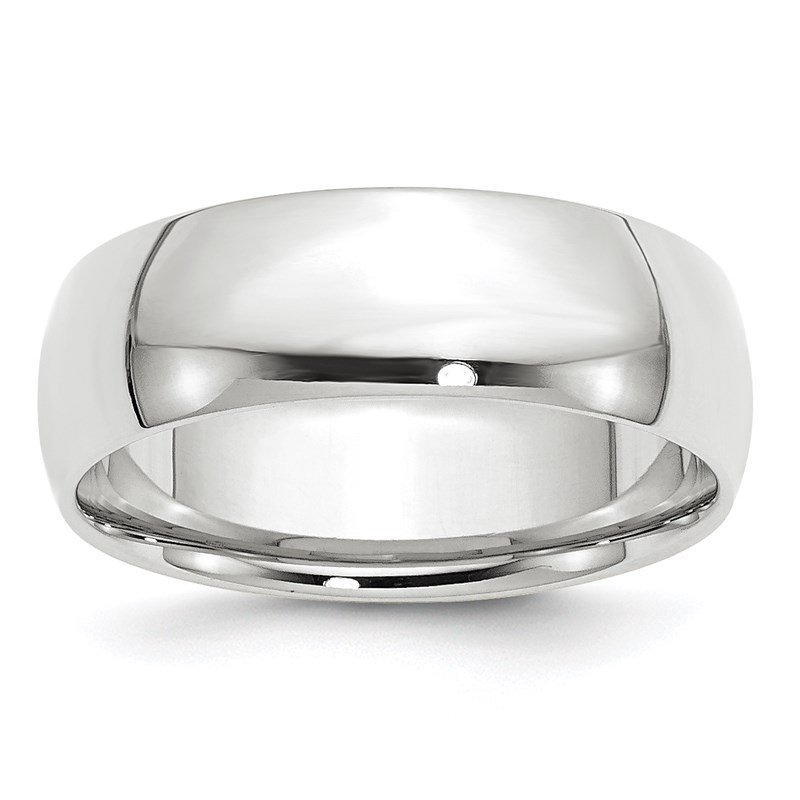 Fine Jewelry by JBD 14KW 7mm LTW Comfort Fit Band Size 10