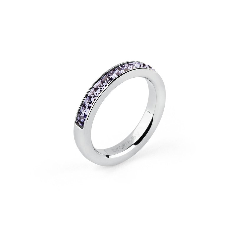 Brosway 316L stainless steel and tanzanite Swarovski® Elements.