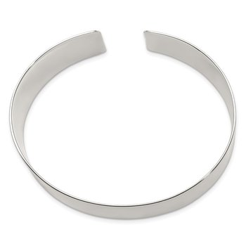 Sterling Silver 30mm Fancy Cuff Bangle Bracelet