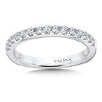 Valina Diamond and 14K White Gold Wedding Ring (.41 ct. tw.)